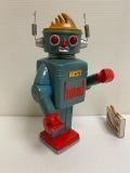 アートネイチャー☆ロボット☆ソフビ人形 ☆貯金箱 19.5cm 当時物 企業物 非売品 現状 【AT1030】