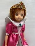 大きい☆1989年☆バンダイ☆魔法使いサリー☆ソフビ・布人形 大 26.2cm 当時物 JAPAN 現状 【AT1240】