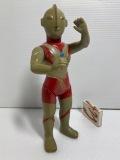 ブルマァク☆ウルトラマン☆ソフビ人形 23.0cm スタンダード 当時物 現状 【AT1252】