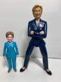 ヒラリー・クリントン☆アメリカ☆ファーストレディ☆人形 23.0cm 政治家 現状◆アメリカ大統領 【AT1272】