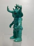 希少☆1971年当時☆ブルマァク☆アントラー☆ソフビ人形 9.7cm 当時物 ウルトラ怪獣 版権有 現状 【AT1324】