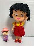 大☆タカラ☆ちびまる子ちゃん☆ソフビ人形 24.5cm 145g 初期放映当時 版権有 JAPAN 現状 【AT1330】
