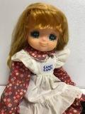 ポピー キャンディキャンディ 人形 おすましキャンディ 大 36.0cm 320g 当時物 版権有 現状 【AT135】