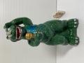 美品☆大きい☆歌うゴジラ☆陶器製☆人形☆貯金箱 24.5cm 550g 当時物 現状 【AT1377】