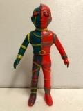 タカトク 人造人間キカイダー ソフビ人形 20.0cm ミドルサイズ 当時物 現状 【AT177】
