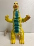 1966年☆マルサン レッドキング ウルトラ怪獣 ソフビ人形 23.0cm スタンダード 当時物 現状 【AT187】