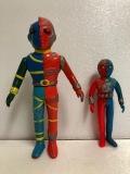 タカトク 人造人間キカイダー ソフビ人形 20.0cm ミドルサイズ 当時物 現状 【AT265】