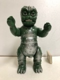 ブルマァク☆ミニラ(ゴジラの息子)☆ソフビ人形 22.0cm スタンダード 当時物 東宝 1992年 現状 【AT279】