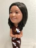 テレサ・テン 歌姫 フィギュア 人形 12.0cm 85g 歌手 現状 詳細不明 【AT428】