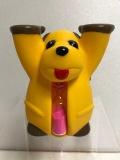 砂時計付☆まんまちゃん さんまのまんま ソフビ人形 9.7cm 75g 当時物 現状 詳細不明 【AT432】