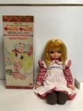 箱付☆ポピー☆キャンディキャンディ 人形 おすましキャンディ 大 36.0cm 330g 当時物 版権有 現状 【AT434】