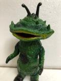 ポピー☆カネゴン(足型あり) ウルトラマン キングザウルスシリーズ ソフビ人形 16.5cm 当時物 現状 【AT542】