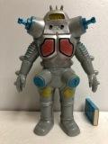 復刻版☆キングジョー☆ソフビ人形 高さ 23.3cm スタンダード 版権有 ウルトラセブン 現状 【AT771】