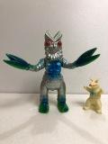 復刻版☆ブルマァク☆バルタン星人☆ウルトラ怪獣 ソフビ人形 21.6cm スタンダード 版権有 現状 【AT830】