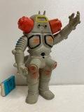 キングジョー☆ソフビ人形 21.5cm スタンダード 当時物 ウルトラセブン 現状 【AT945】