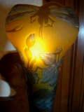 ルーマニアガレ 被せガラス 蜻蛉(トンボ) スタンドランプ 【NW0030】
