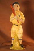 野球の人形 昭和土人形 1930年代〜昭和初期 現状販売 【TO1936】