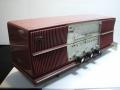 日立 真空管ラジオ S-539 横幅42.5cm SW/MW JAPAN 動作確認済み 現状 【TO2812】