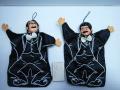 アンソニー ひげダンス 志村けん・加藤茶 手踊り人形 21.0cm 当時物 現状 【TO3220】