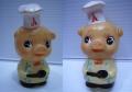 レア☆エースコック ブタさん ソフビ人形 貯金箱 9.8cm 当時物 企業物 非売品 現状 【TO3243】