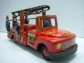 貴重☆ウサギ屋 消防車 ブリキ 長さ 20.0cm 当時物 JAPAN フリクション 現状 【TO3250】