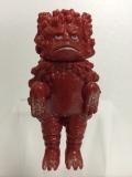 バンダイ ガラモン ウルトラ怪獣(ウルトラQ) ソフビ人形 8.6cm 当時物 赤色 現状 【TO3762】