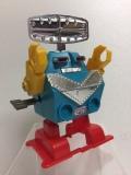 ロボット ゼンマイ式 15.5cm 120g 当時物 JAPAN 現状 【TO4011】