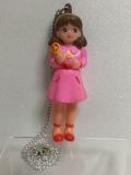 ポピー 魔法少女ララベル ソフビ人形 12.3cm 当時物 版権有 現状 【TO4017】