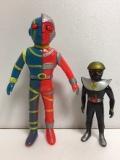 タカトク 人造人間キカイダー ソフビ人形 20.0cm ミドルサイズ 当時物 現状 【TO4048】