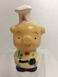エースコック ブタさん ソフビ人形 9.3cm 当時物 企業物 非売品 現状 【TO4095】