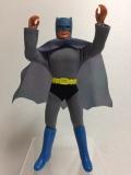 昭和レトロ☆1972年☆バットマン 人形 20.2cm 当時物 版権有 現状 【TO4127】