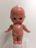 キューピー☆セルロイド☆人形 16.8cm 当時物 JAPAN 現状 【TO4155】