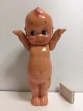 キューピー クラブ☆KEWPIE CLUB☆セルロイド☆キューピー☆人形 大 24.5cm 当時物 JAPAN 現状 復刻版 刻印有 現状 【TO4157】