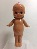 キューピー クラブ☆KEWPIE CLUB☆セルロイド☆キューピー 人形 18.2cm 当時物 JAPAN 現状 復刻版 刻印有 現状 【TO4158】
