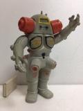 レア☆キングジョー ソフビ人形 21.5cm スタンダード 当時物 ウルトラセブン 現状 【TO4177】