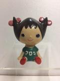 東邦レーヨン アロンちゃん ソフビ人形 7.2cm 当時物 企業物 非売品 現状 【TO4472】