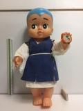 特大☆一休さん ソフビ人形 貯金箱 高さ 45.0cm 640g 当時物 JAPAN 現状 詳細不明 【TO4479】