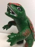 日東 ガメラ ソフビ人形 24.5cm(頭〜尾) 当時物 大映 スタンダード 1971年 版権有 現状 【TO4486】