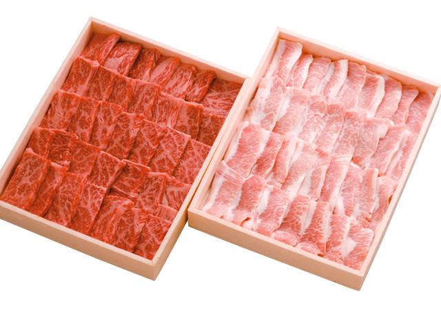 焼肉セット、和牛・とことん豚