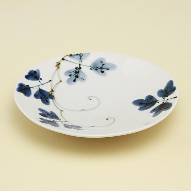 シダ紋 5寸皿