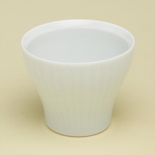 青白磁線彫 新仙茶(小)