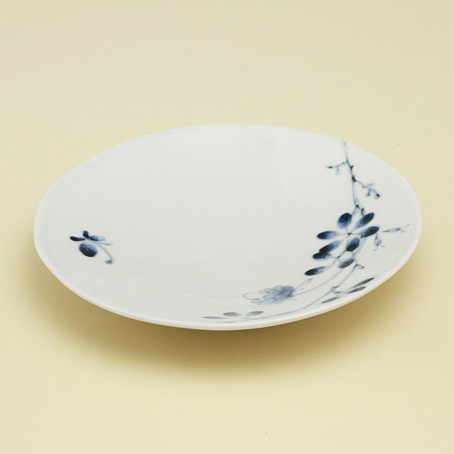 野ばら 7寸皿