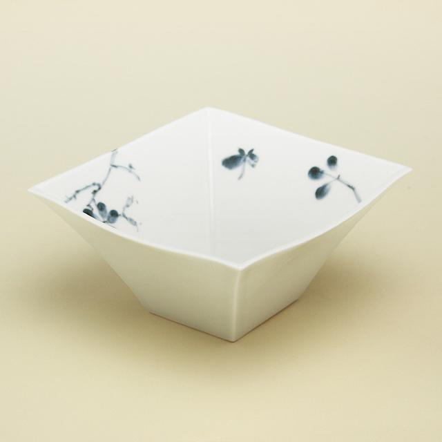 野ばら 角小鉢
