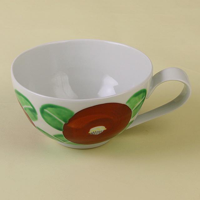 赤椿 スープカップ