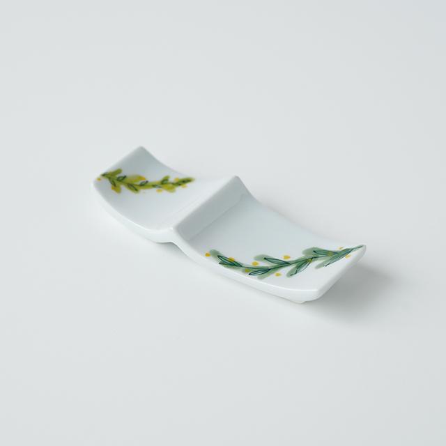 波佐見焼 陶房青 和食器 吉村陶苑 Ao AOSHOP  ボタニカル 北欧 ナチュラル レスト 箸置
