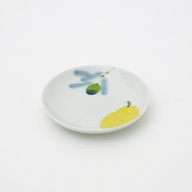 波佐見焼 和食器 うつわ 器 うつわ好き  陶房青 マティーニ 3寸皿 丸皿 プレート