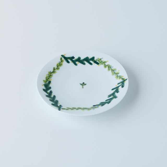 波佐見焼 陶房青 和食器 器 うつわ 4寸皿 プレート 小皿 丸皿