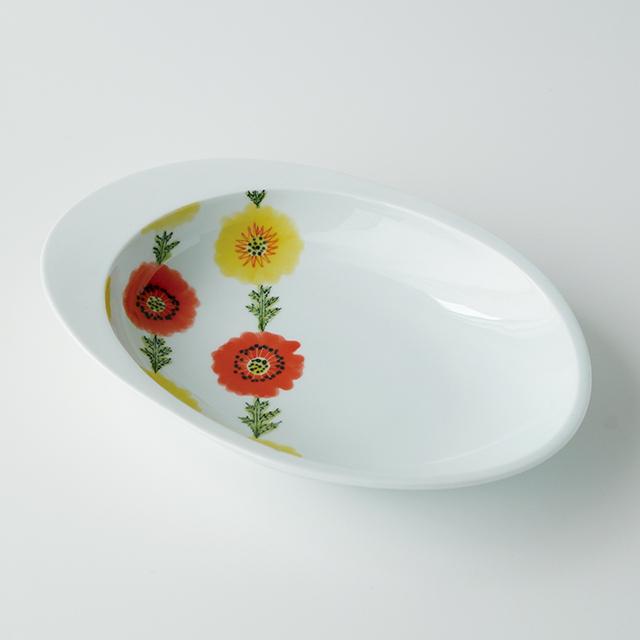 波佐見焼 和食器 うつわ 器 うつわ好き  陶房青 カレー皿 楕円皿 パスタ皿 皿 プレート
