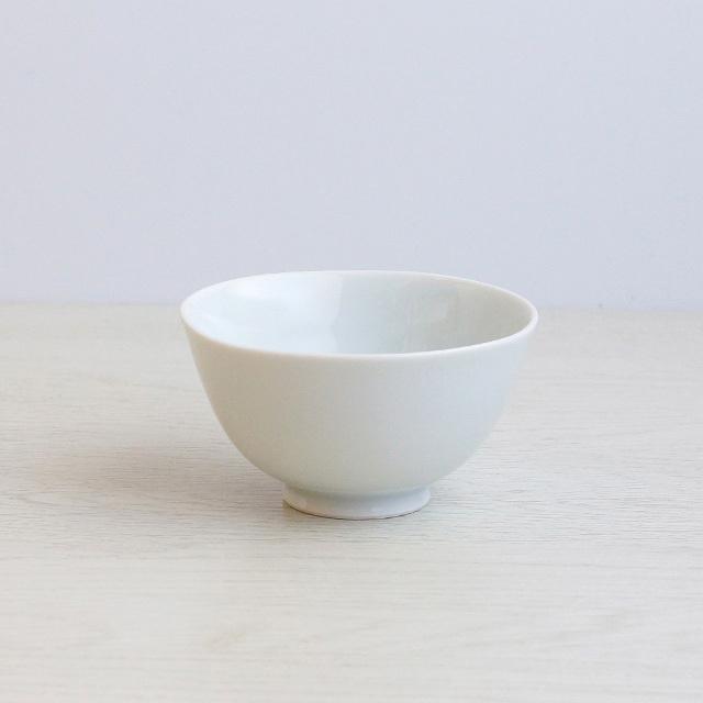 白亜 波渕茶碗(小) 波佐見焼 陶房青 【陶房青専門ショップAo】