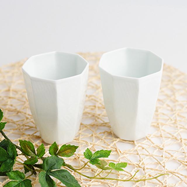 波佐見焼 陶房青 吉村陶苑 母の日 プレゼント 父の日 ギフト フリーカップ カップ 白磁
